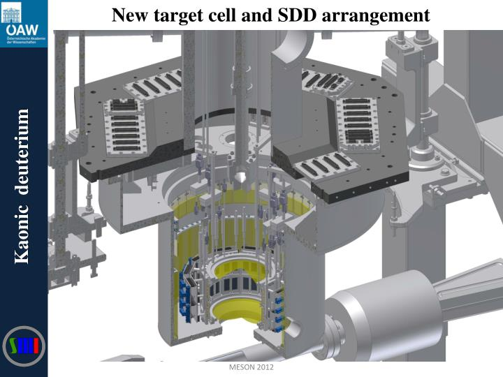 New target cell and SDD arrangement