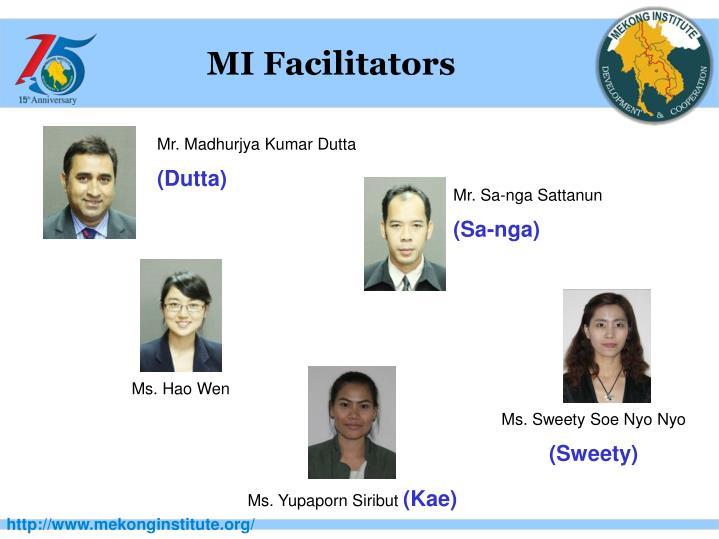 MI Facilitators
