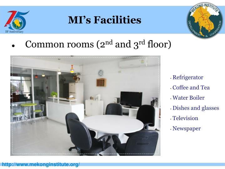 MI's Facilities