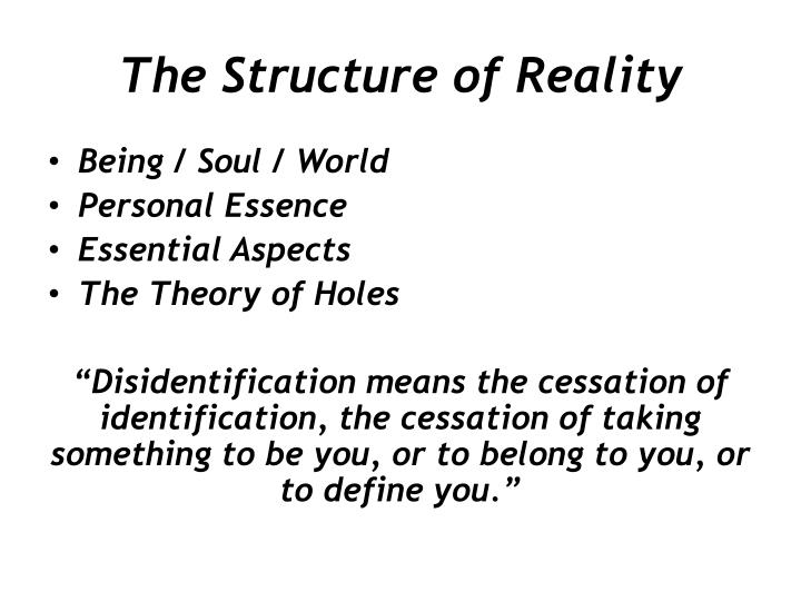 The Structure of Reality