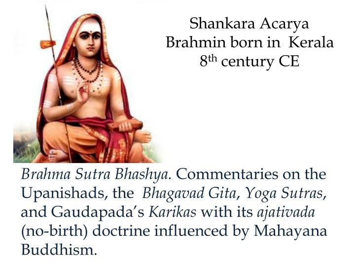 Shankara Acarya