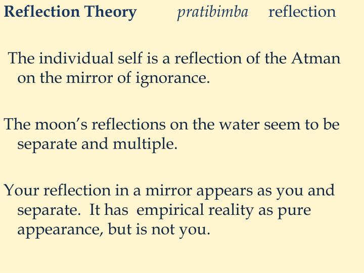 Reflection Theory