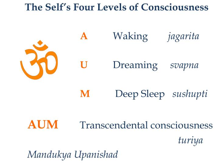 The Self's Four Levels of Consciousness