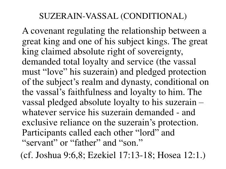 SUZERAIN-VASSAL (CONDITIONAL)