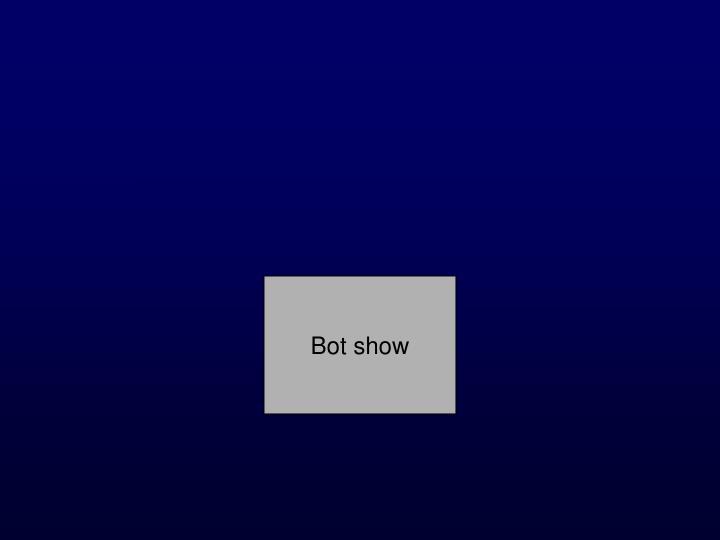 Bot show
