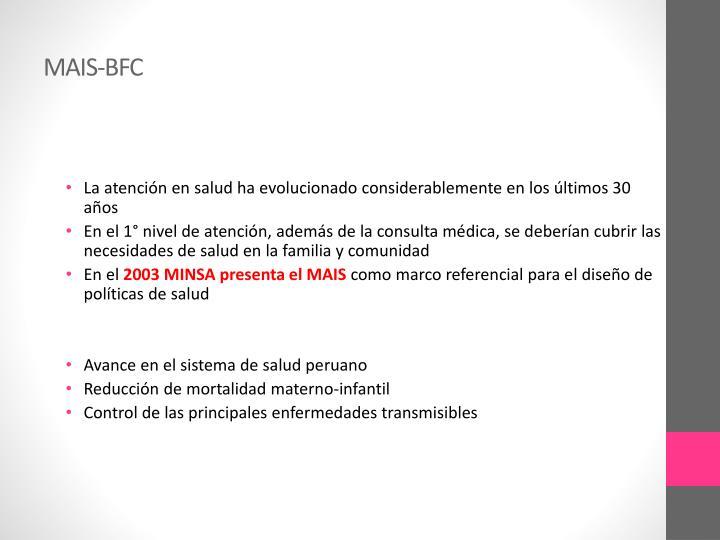 MAIS-BFC