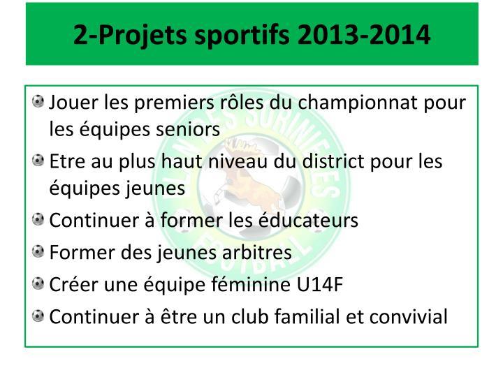 2-Projets