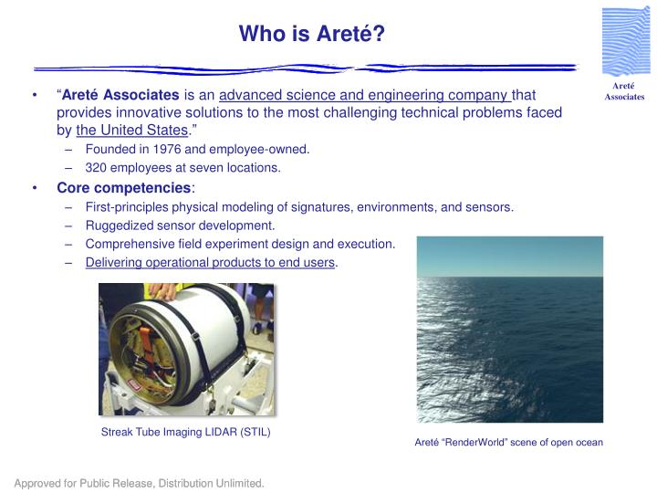 Who is Areté?