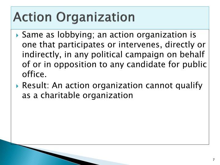 Action Organization