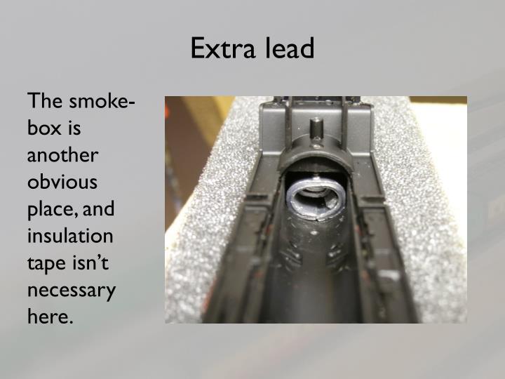 Extra lead