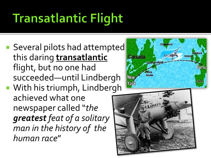 Transatlantic Flight