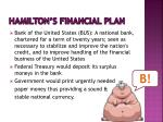 hamilton s financial plan5