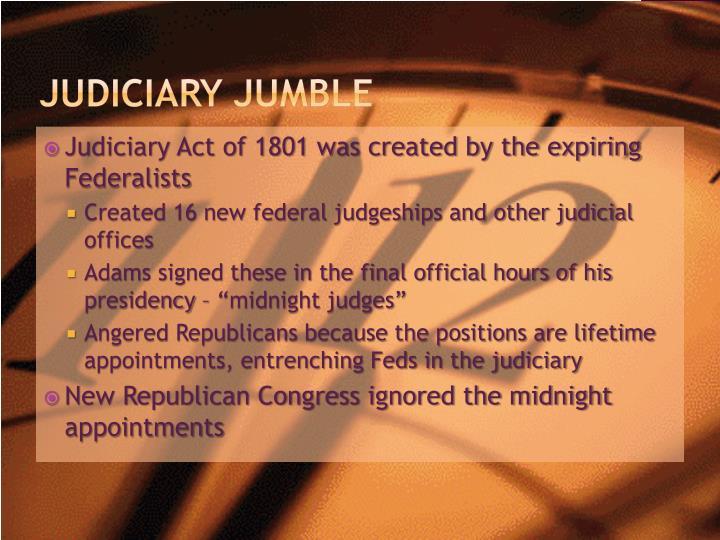 Judiciary Jumble