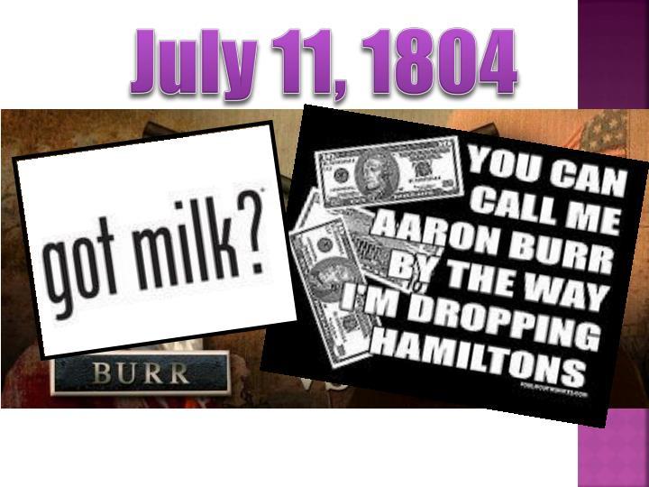 July 11, 1804