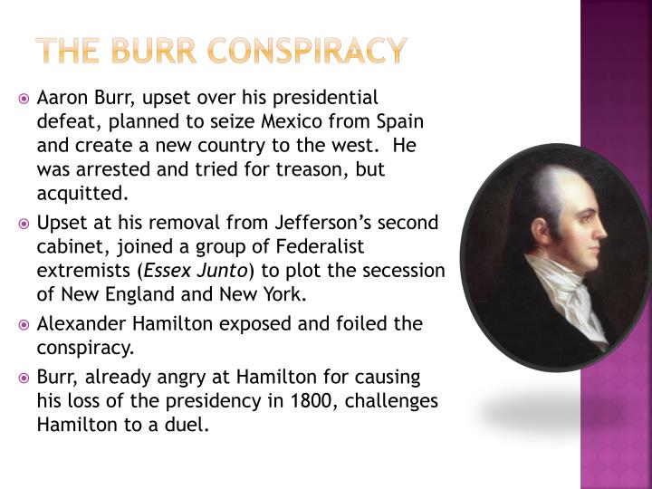 The Burr Conspiracy