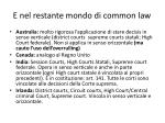 e nel restante mondo di common law