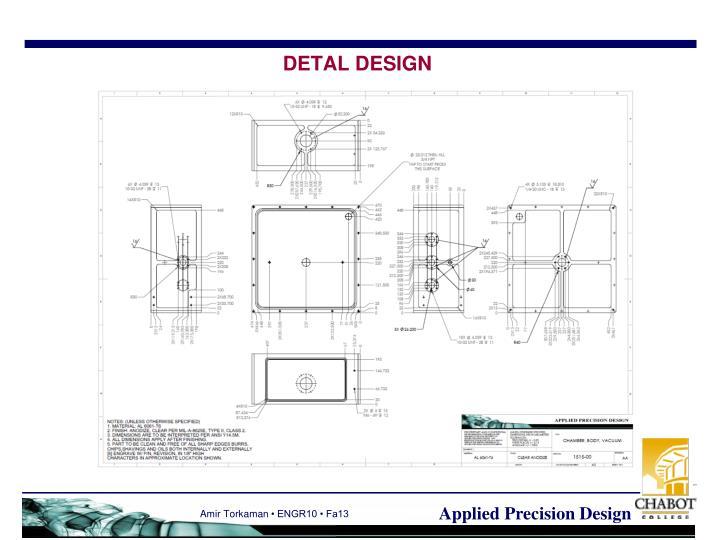 DETAL DESIGN