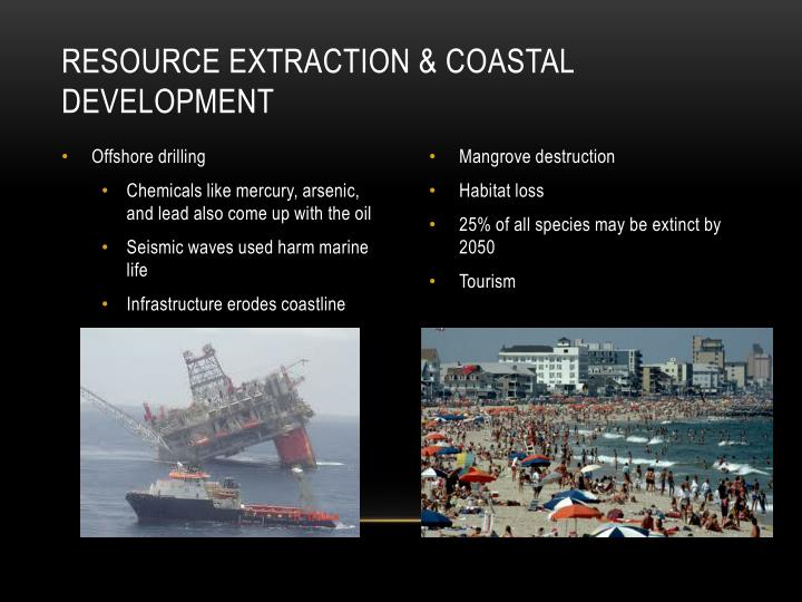 Resource Extraction & Coastal Development