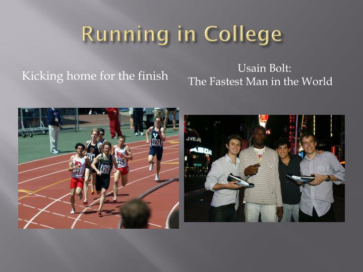 Running in College