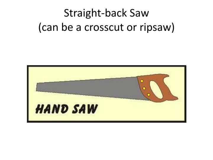 Straight-back