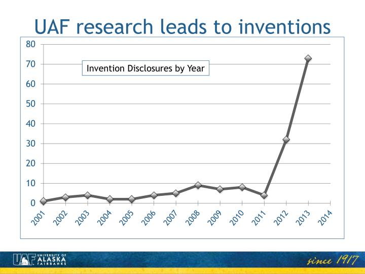 UAF research leads to inventions