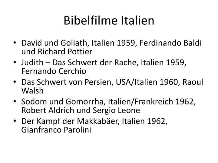 Bibelfilme Italien