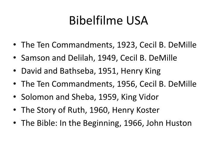 Bibelfilme USA
