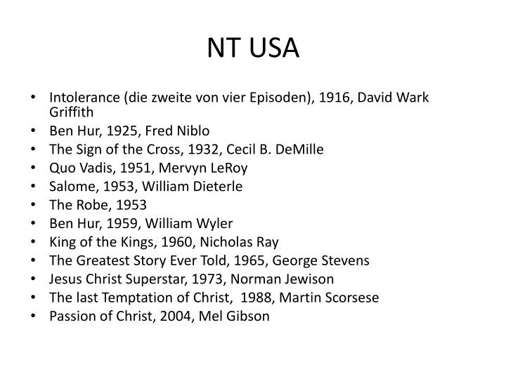 NT USA
