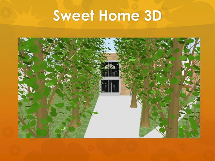 Ppt Sweet Home 3d Powerpoint Presentation Id 2081157
