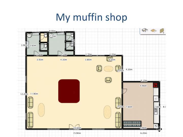 My muffin shop
