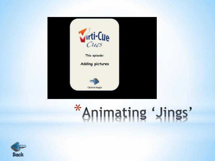 Animating '