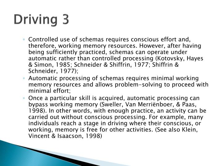 Driving 3