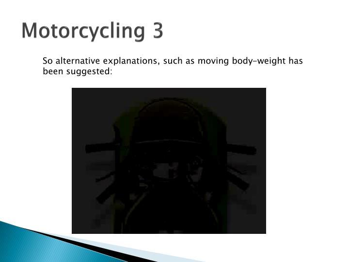 Motorcycling 3