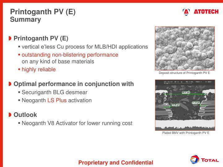 Printoganth PV (E)