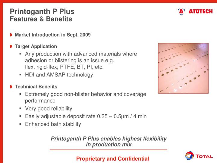 Printoganth P Plus enables highest flexibility in production mix