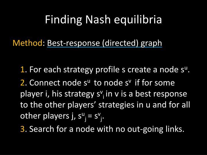 Finding Nash
