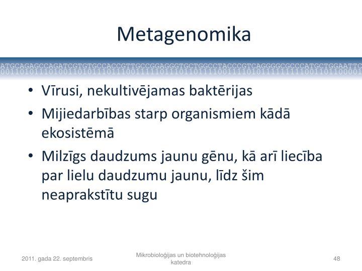Metagenomika