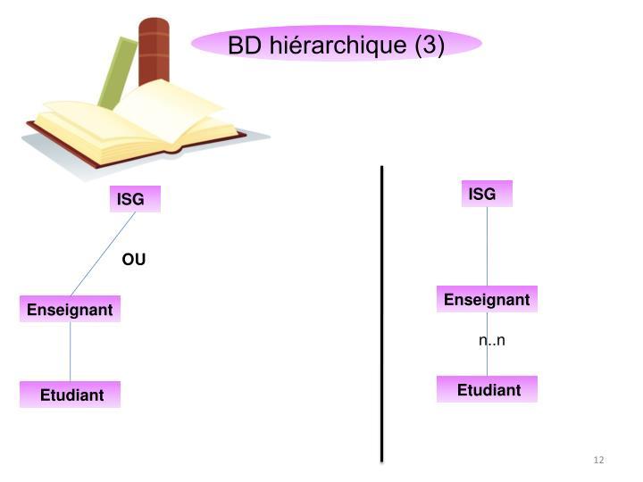 BD hiérarchique (3)