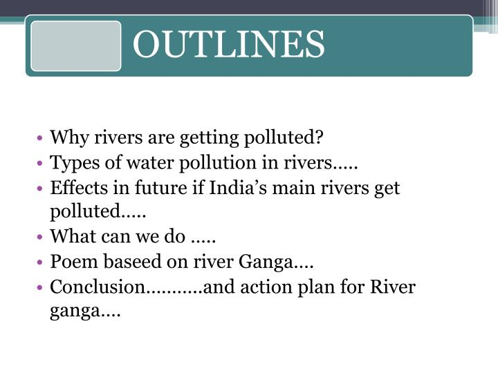 Why rivers are getting polluted?