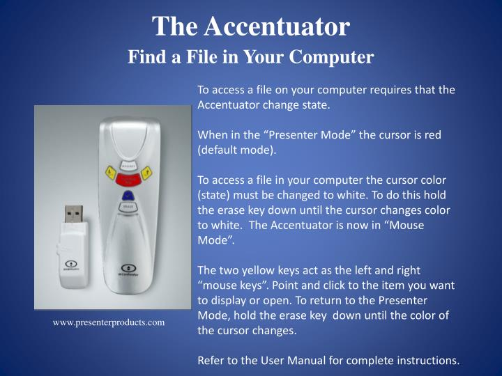 The Accentuator