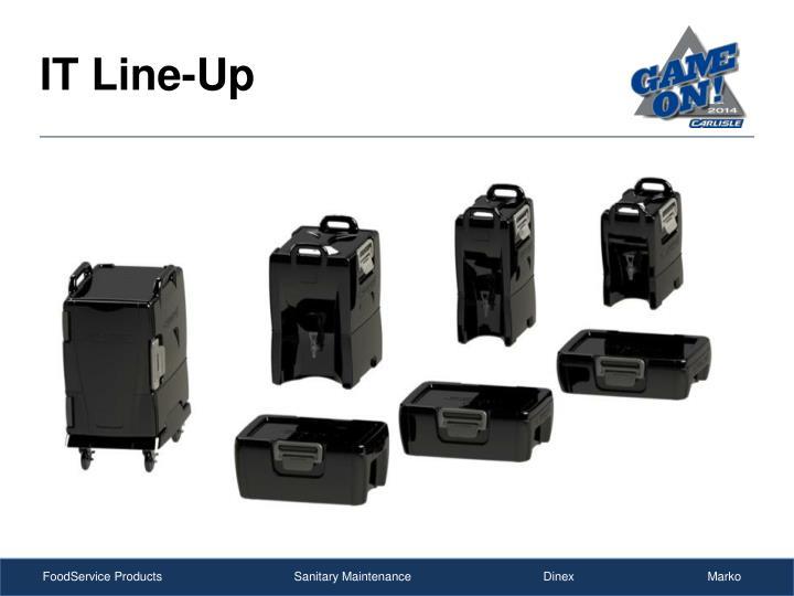 IT Line-Up