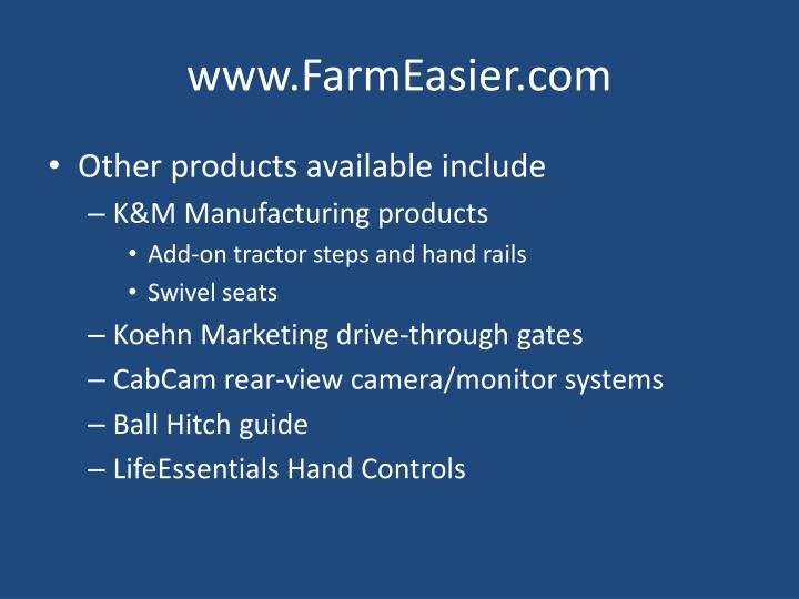 www.FarmEasier.com