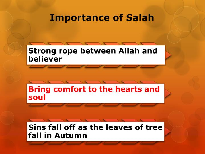 Importance of Salah