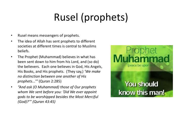 Rusel (prophets)