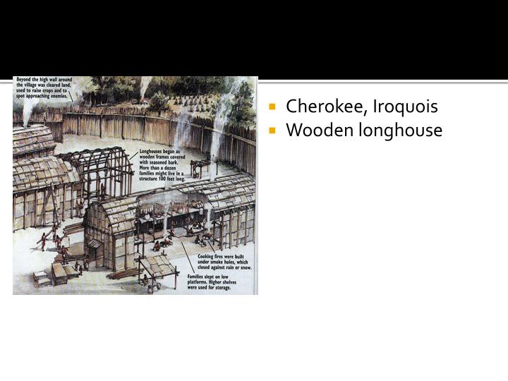 Cherokee, Iroquois