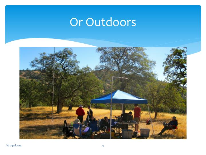 Or Outdoors