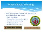 what is radio scouting