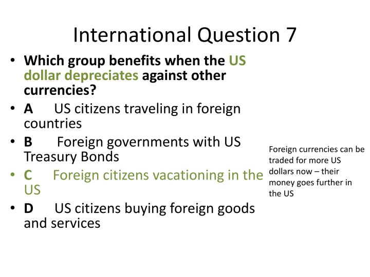 International Question 7