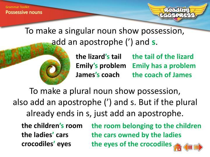 Grammar Toolkit