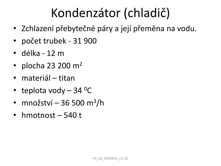 Kondenzátor (chladič)